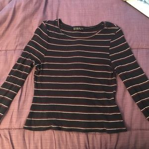 Cotton on stripped long sleeve